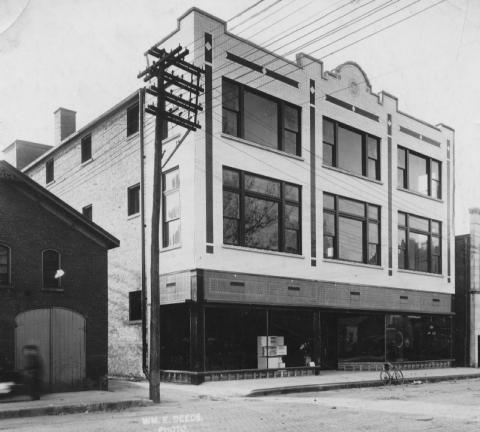 Historic Evansville Finke Furniture Store