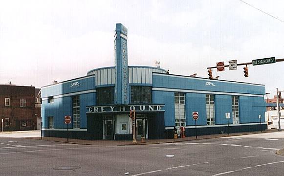 Historic Evansville - Greyhound Bus Terminal